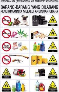 jenis barang berbahaya, jenis barang berbahaya dalam pengiriman paket, jenis barang yang dilarang dalam pengiriman ke luar negeri, barang berbahaya dalam pengiriman paket ke luar negeri