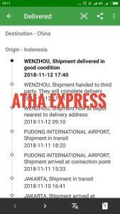 tracking paket kiriman luar negeri